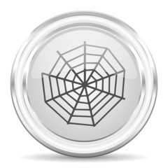 spider web internet icon