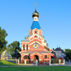 Church of the Intercession in Uzhhorod, Transcarpathia, Ukraine