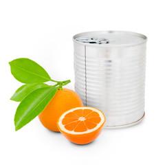 Tangerine can