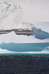 Antarctica - Polar Landscape - Ice Formations - Global Warming