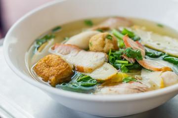 noodle for traditonal gourmet dumpling image
