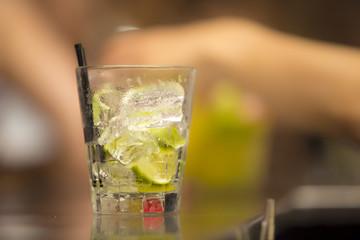 Bebida alcólica. Preparación. Coctel