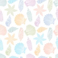 pattern of the seashells