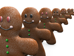Ginger bread.