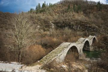 Kologeriko bridge, Zagorohoria, Greece