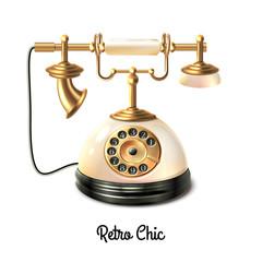 Retro style telephone