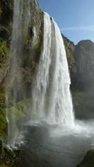Wasserfall etwas näher