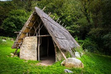 capanna preistorica - ricostruzione