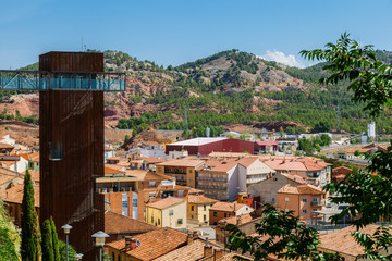 Viewpoint over Teruel Old Town, Aragon, Spain