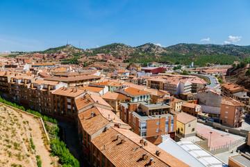 View of Teruel Old Town, Aragon, Spain
