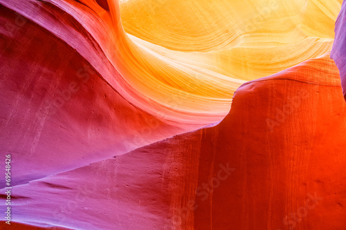 Foto op Canvas Natuur Park Antelope Canyon Page Arizona