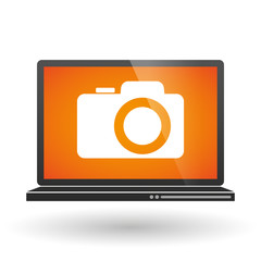 Laptop with a camera