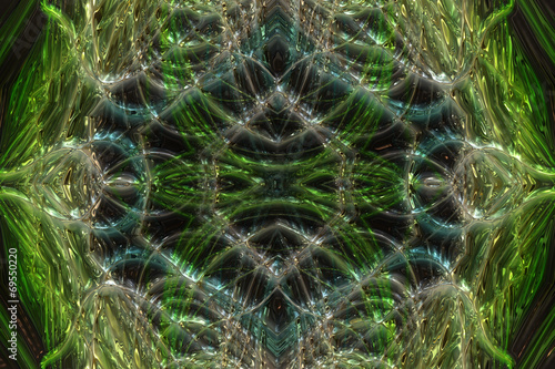canvas print picture fantastic illustrated glass background pattern