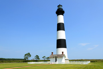 Bodie Island Lighthouse. Outer banks North Carolina, USA