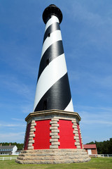 Cape Hatteras Lighthouse. Outer banks North Carolina, USA