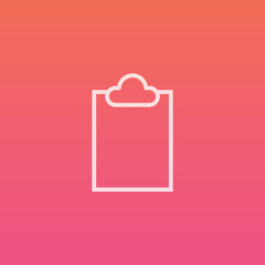 Clipboard - Finely crafted line icons