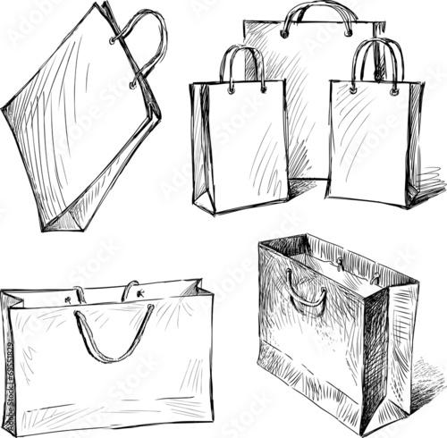 shopping bags - 69551829