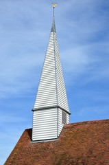 Wooden steeple in england