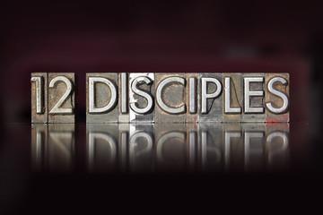 Twelve Disciples Letterpress