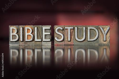 Bible Study Letterpress - 69553694