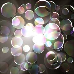 Glass circle.