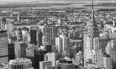 Manhattan, New York. City skyscrapers and skyline