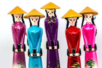 Traditional dolls of Vietnam women