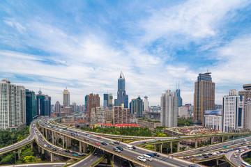 Shanghai viaduct