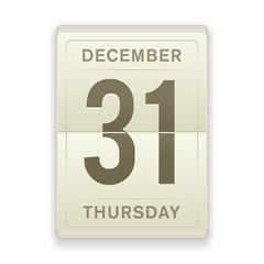 Vector Daily Calendar