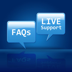 Live Support & FAQs