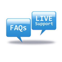 FAQs & Live Support