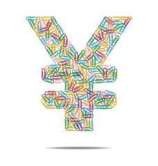 yen symbol clips