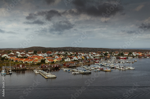 canvas print picture Swedish Lakeview
