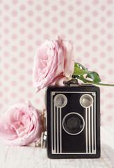 Old classic nostalgic camera1
