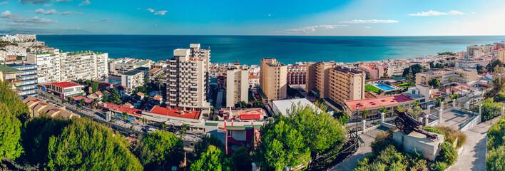 Torremolinos coast. Malaga, Spain