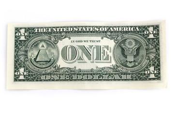 1ドル札の裏側