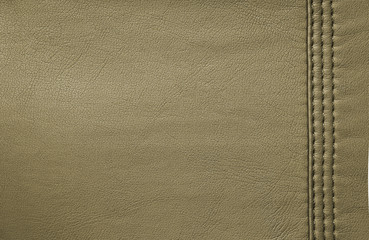 Beige, brown leather background or texture