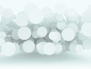 Abstract dream background 3d circles