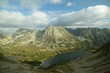Leinwandbild Motiv Valley of five ponds in the Tatra National Park, Poland