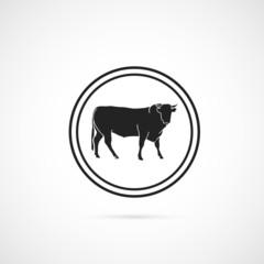 icône vache