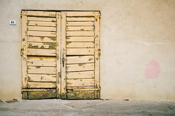 Vecchia porta - Texture