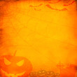 Grunge orange halloween background - 69564823