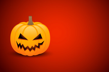 Halloween card or banner