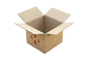 Empty open box