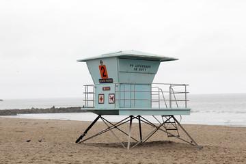 Wachturm für Rettungsschwimmer