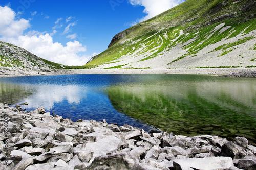 Leinwanddruck Bild lago di pilato