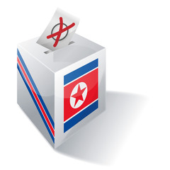 Wahlbox Nordkorea