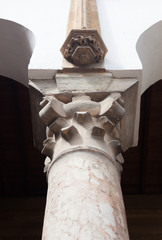 The Top of Classical Column, Marble stone