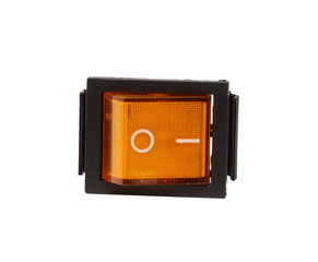 rectangular switch orange