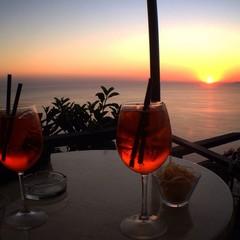 Spritz al tramonto